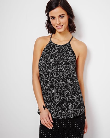Halter Neck Cami blouse