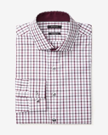 Tailored Fit Big Check Dress Shirt