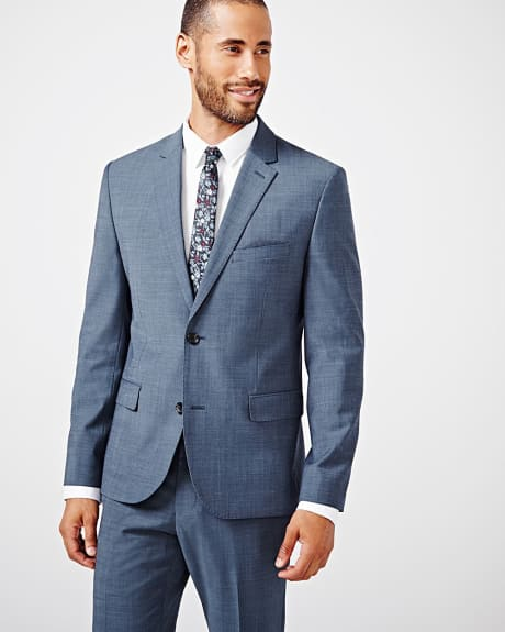 Tailored fit teal traveler blazer - Tall