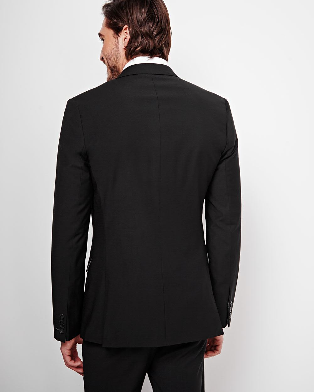 Essential Slim Fit Blazer - Tall | RW&CO.