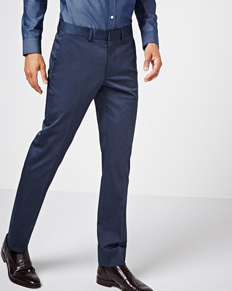 Slim fit techno two-tone pant - Regular
