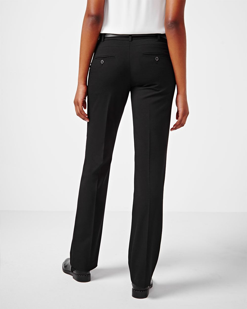 Stretchy High Waisted Pants - Wide leg Super thin stretchy material #prettylittething #xs #blackwidelegpants #widelegbottoms #highwaisted.