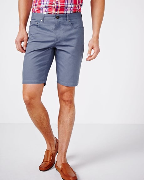 5-Pocket Twill Short