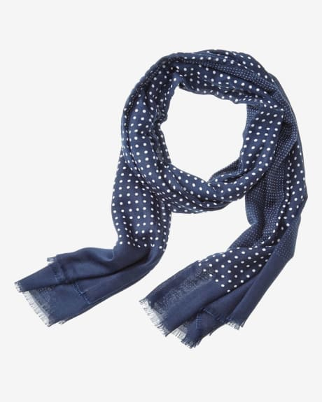 Light Polka dot scarf