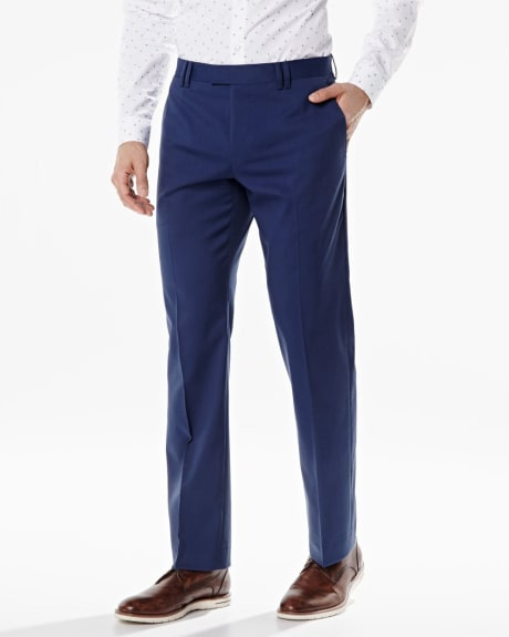 Tailored Fit stretch pant in bold blue - Short