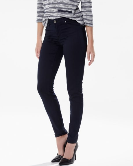 Natalie jegging in navy blue wash - 32 inch inseam