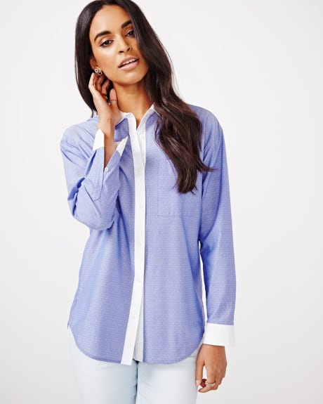 Boyfriend Shirt Blouse