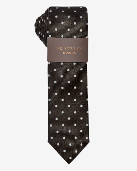 PK Subban Regular Tie With Dots