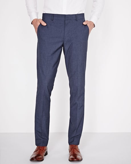Slim Fit two-tone Denim suiting Pant