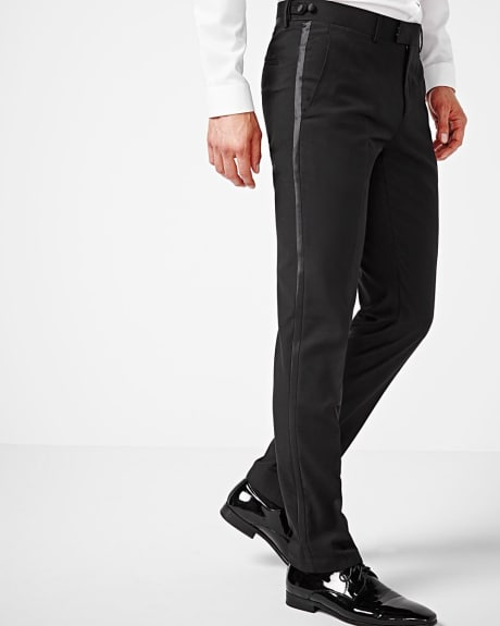 Slim fit tuxedo pant - regular