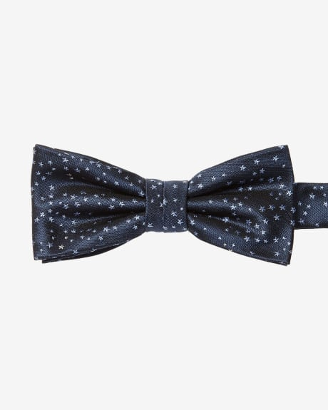 Classic Bow Tie with Star Print