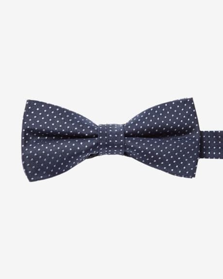 Classic Bow Tie in Light Blue Dots