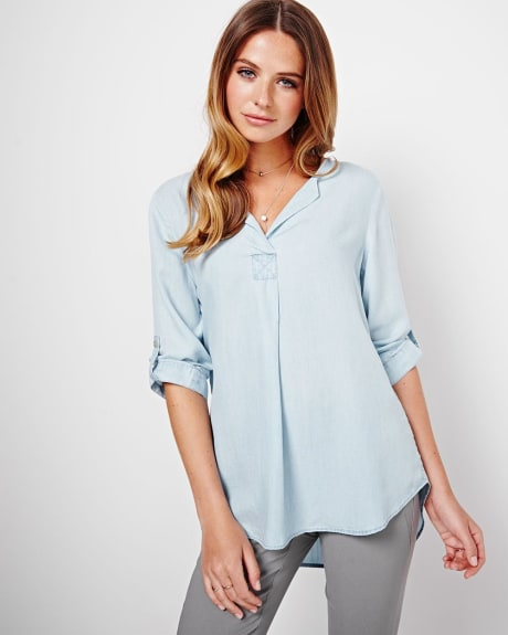 Lyocell Shirt Blouse