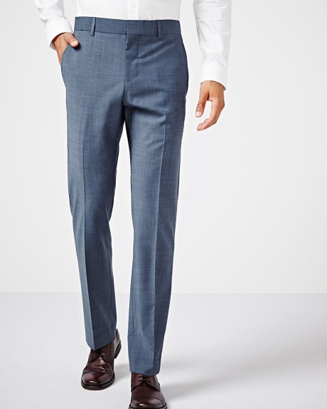 Tailored fit teal traveler pant - Tall