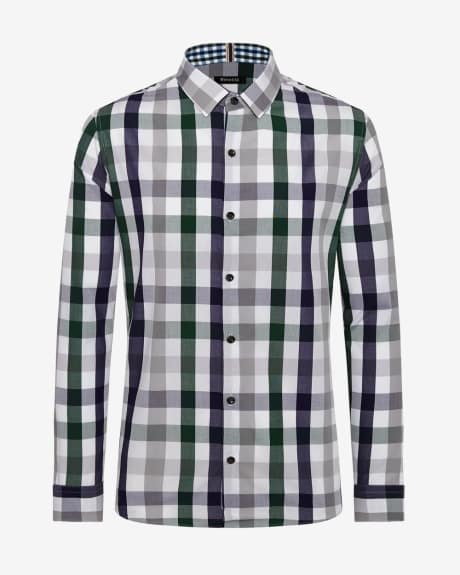 Tailored Fit Bold check Shirt