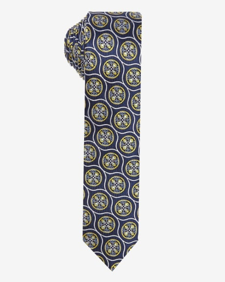 Skinny Cirlcle Tie