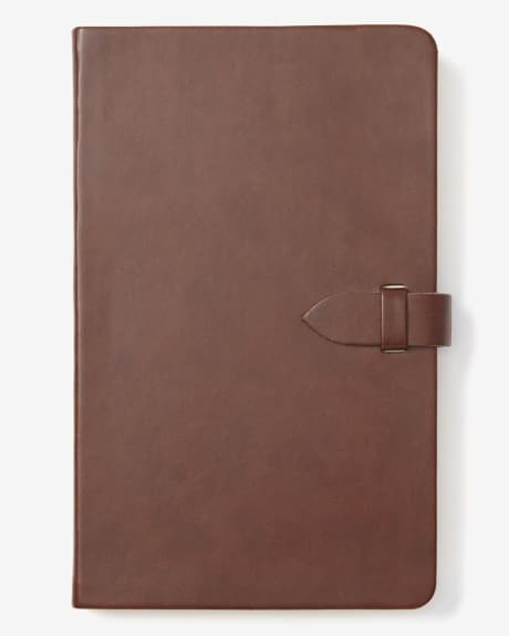 Cahier de notes en faux cuir
