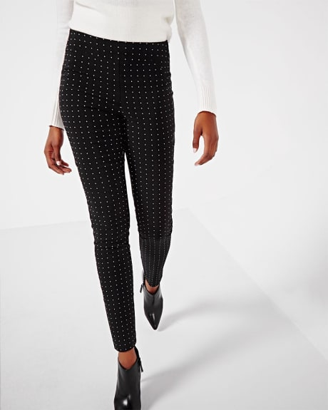 Modern Stretch Jacquard Legging