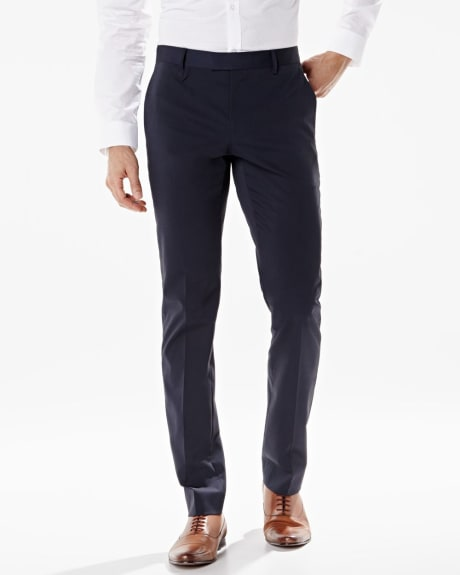 Slim Fit textured techno pant - Regular