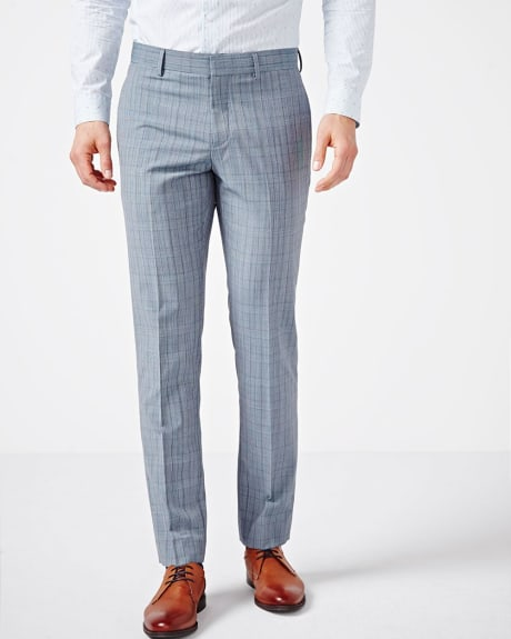 Tailored Fit Prince of Wales Pant - Regular