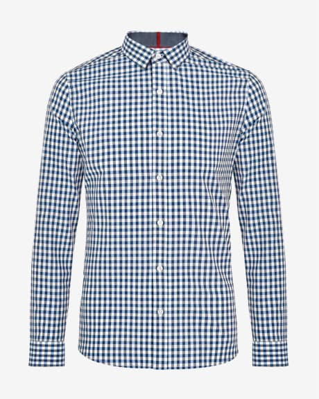 Slim fit shirt in three colour gingham