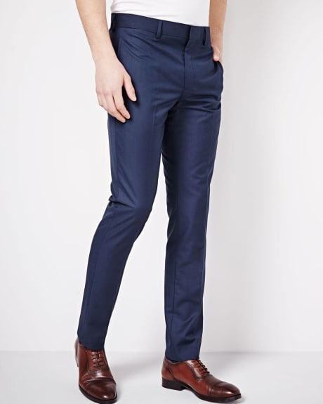 Slim Fit Ink Sharkskin Pant - Regular