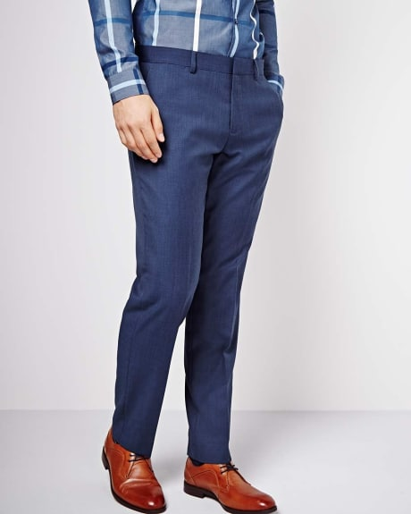 Athletic Fit Blue Pant
