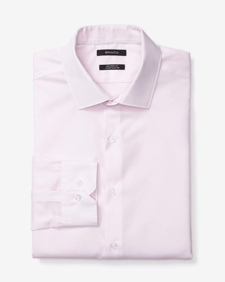 Two-Tone Tailored Fit Dress Shirt