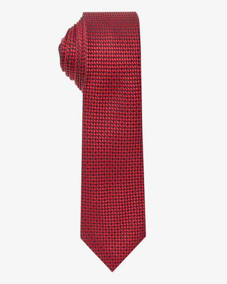 Burgundy tie by Climber B.C. (TM)