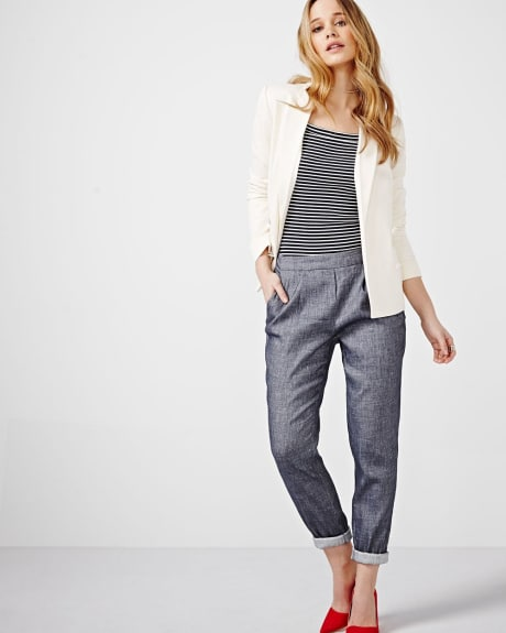 Chambray Flowy Pant