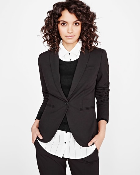 Everyday Stretch Black Blazer