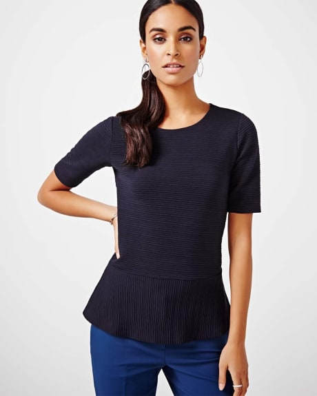 Peplum T-Shirt Blouse