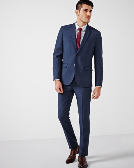 Tailored Fit Blue Blazer - Short
