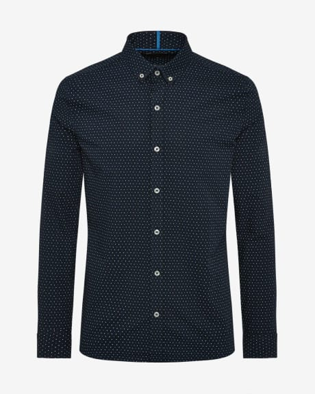 Y Print Slim fit shirt