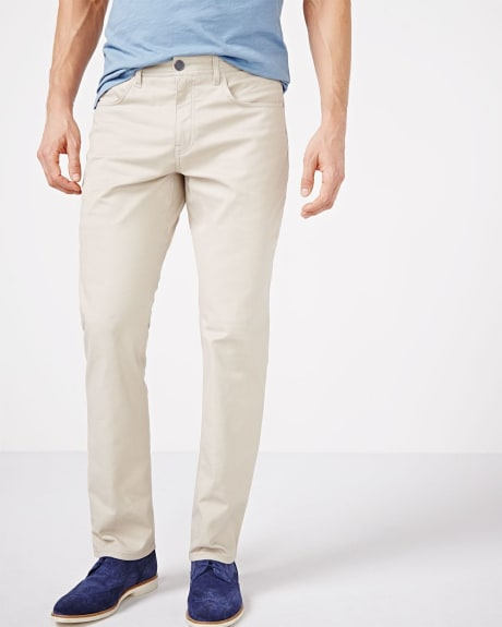 Straight Fit 5-pocket pant - 34 inch inseam