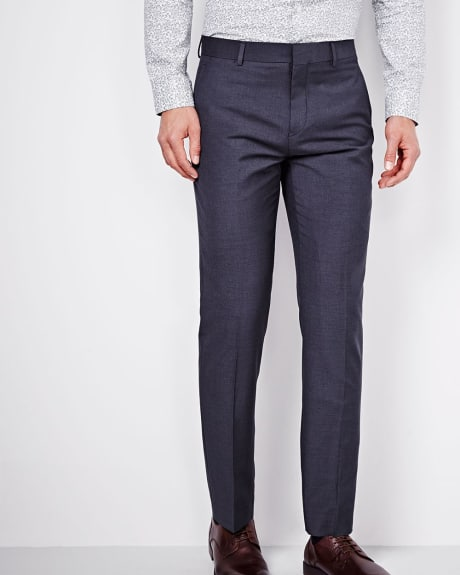 Tailored Fit Purple Blue Pant - Tall