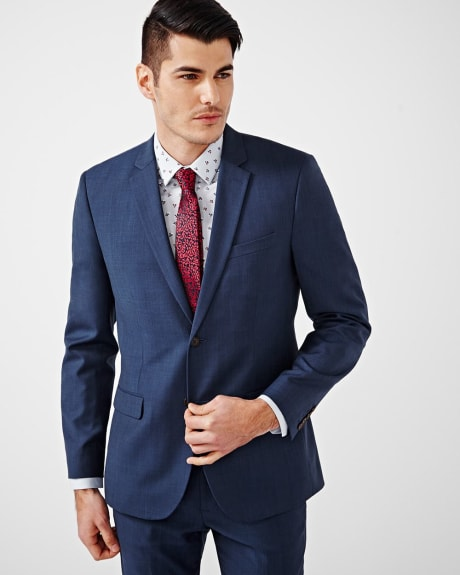 Tailored Fit Blue Blazer - Regular
