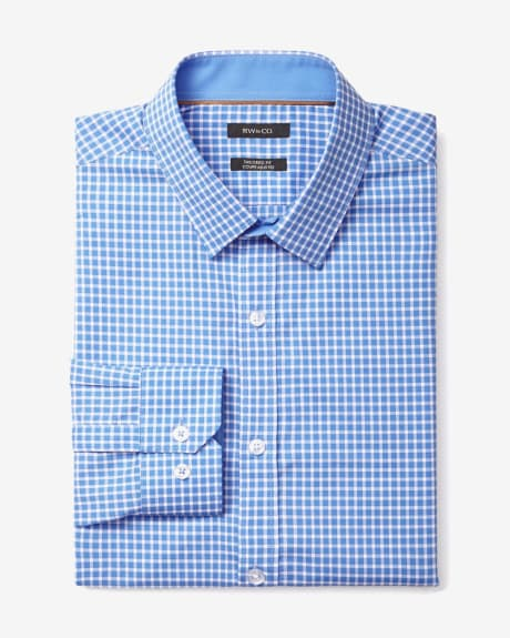 Tailored Fit Vichy Check Dress Shirt