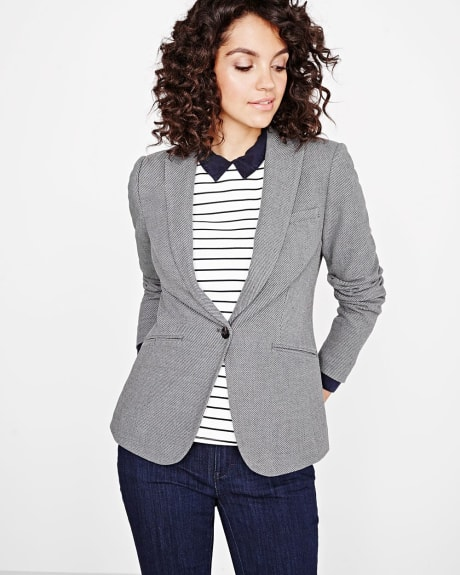 Everyday stretch Textured blazer