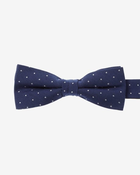Skinny Dotted Bow Tie