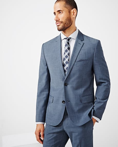 Tailored fit teal traveler blazer - Regular