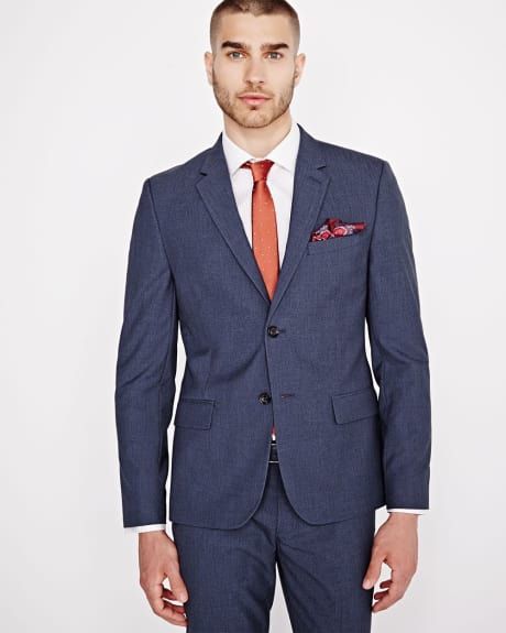 Slim Fit two-tone Denim Blazer