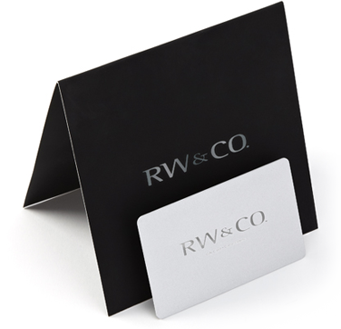 RW&CO. Gift Cards