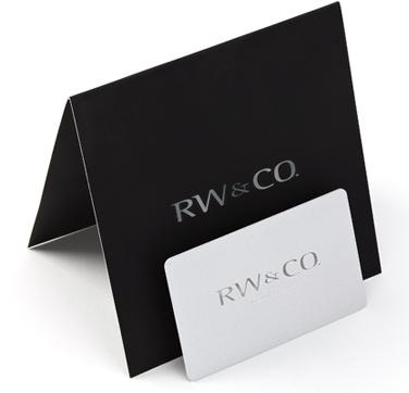 Cartes-cadeaux RW&CO.