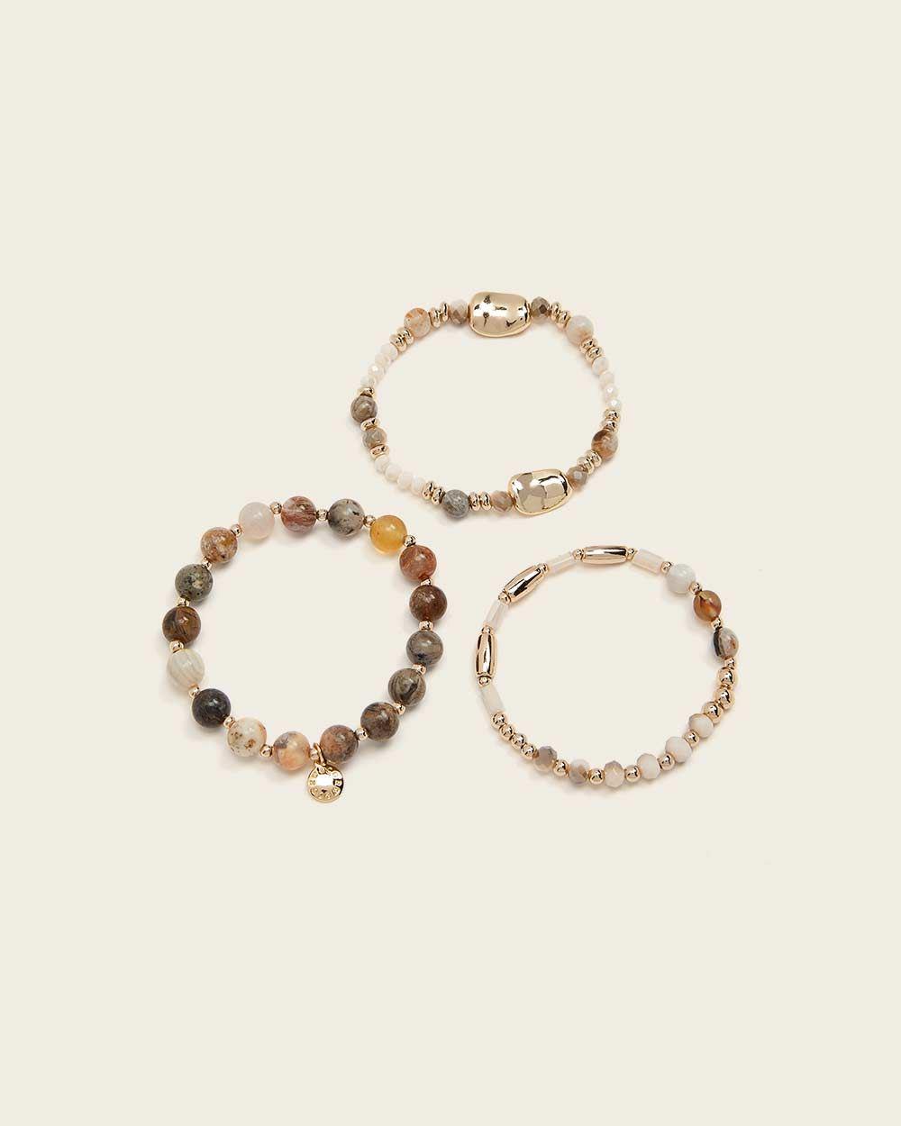 faitmain jewel handmade Bracelet SIR\u00c8NE bracelet stones semiprecious gift jewelry crystals
