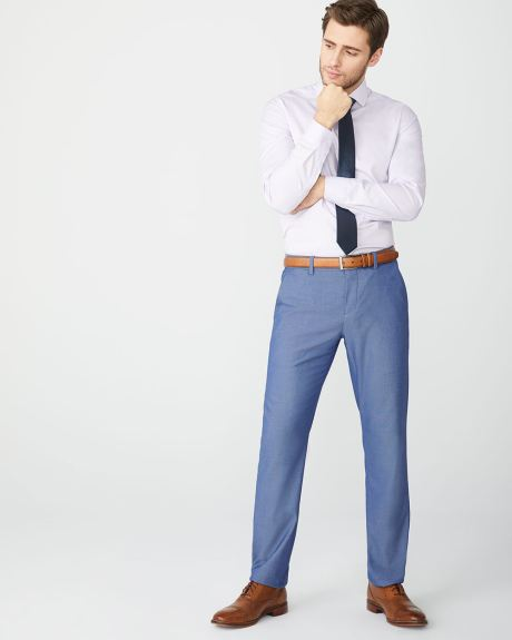Tailored fit Light blue City Pant