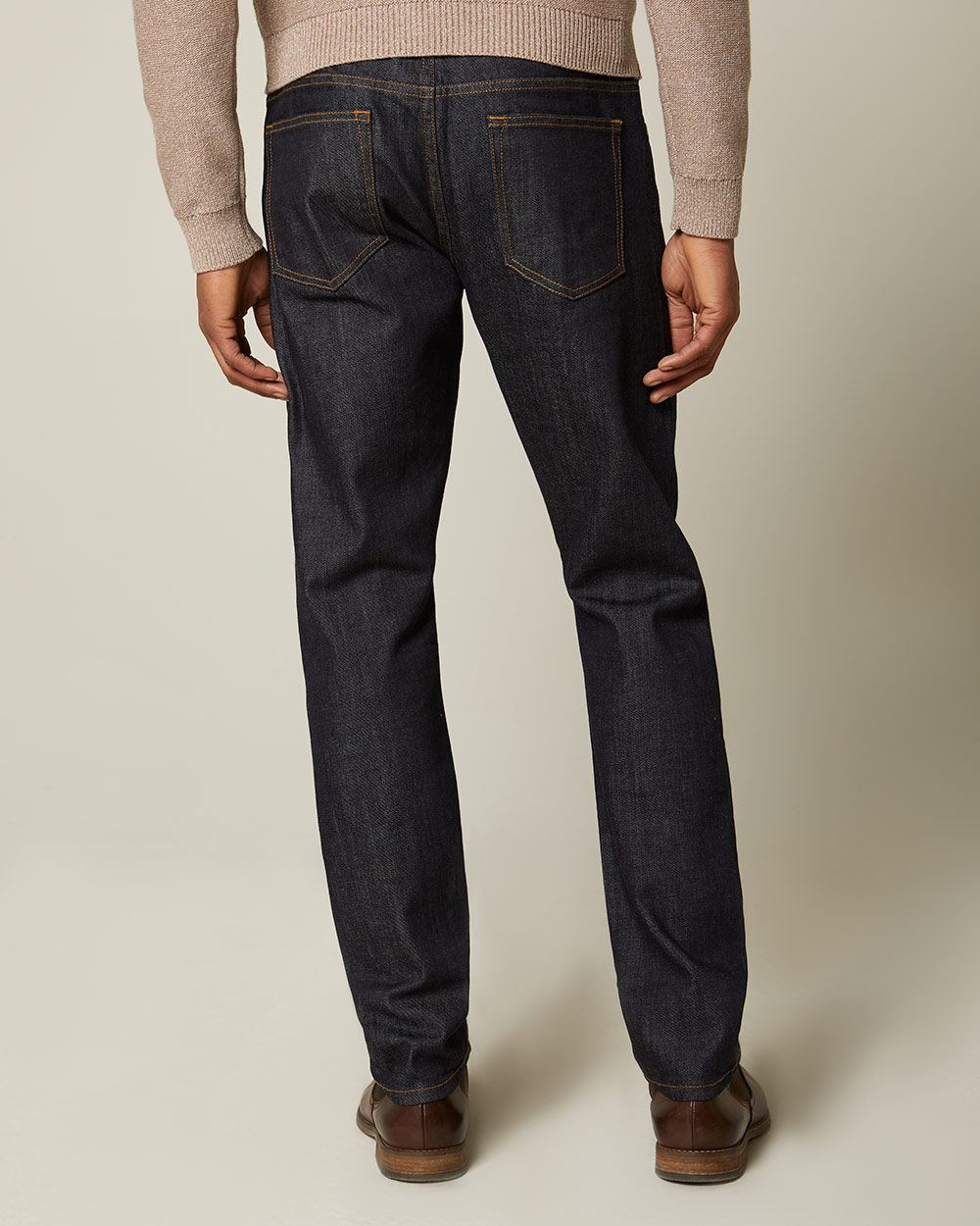 Slim leg Dark rinse Wash Jeans