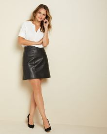 Short Pleather skirt