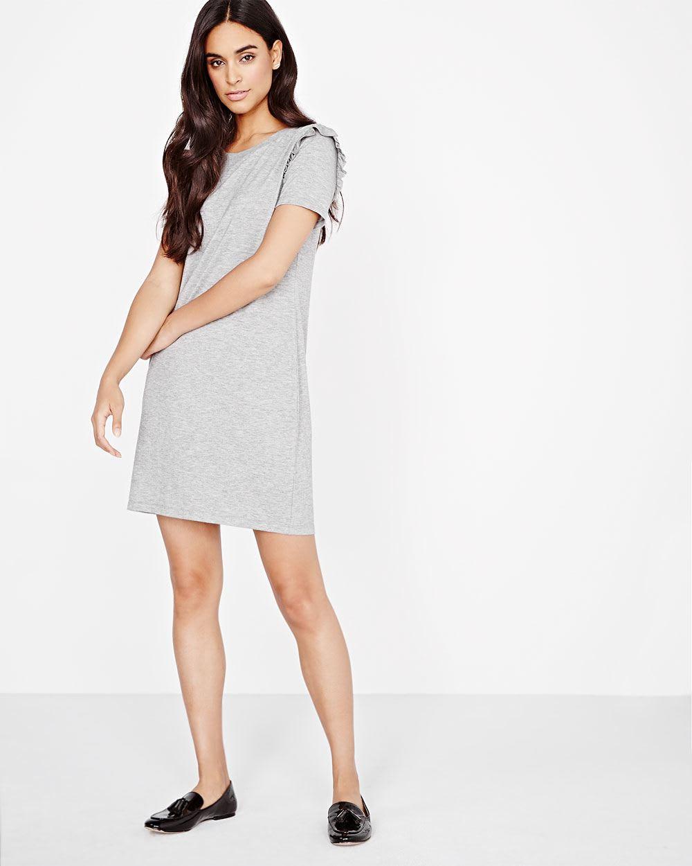 09ace839d132 Short sleeve knit dress