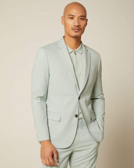 Slim Fit mint green suit Blazer